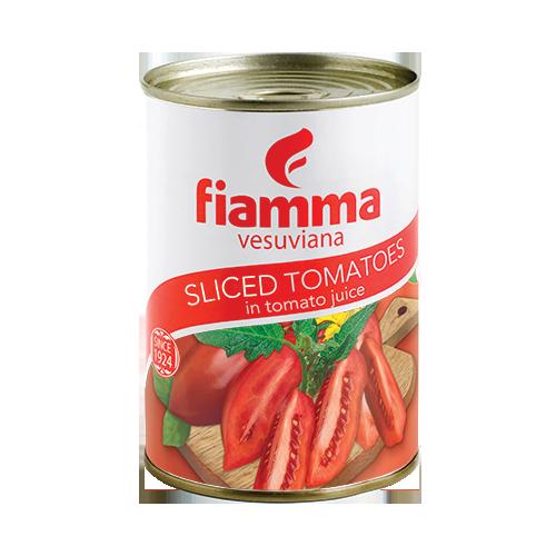 Fiamma Vesuviana sliced tomatoes 400g